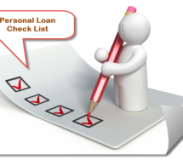 Your Personal Loan Check-list!